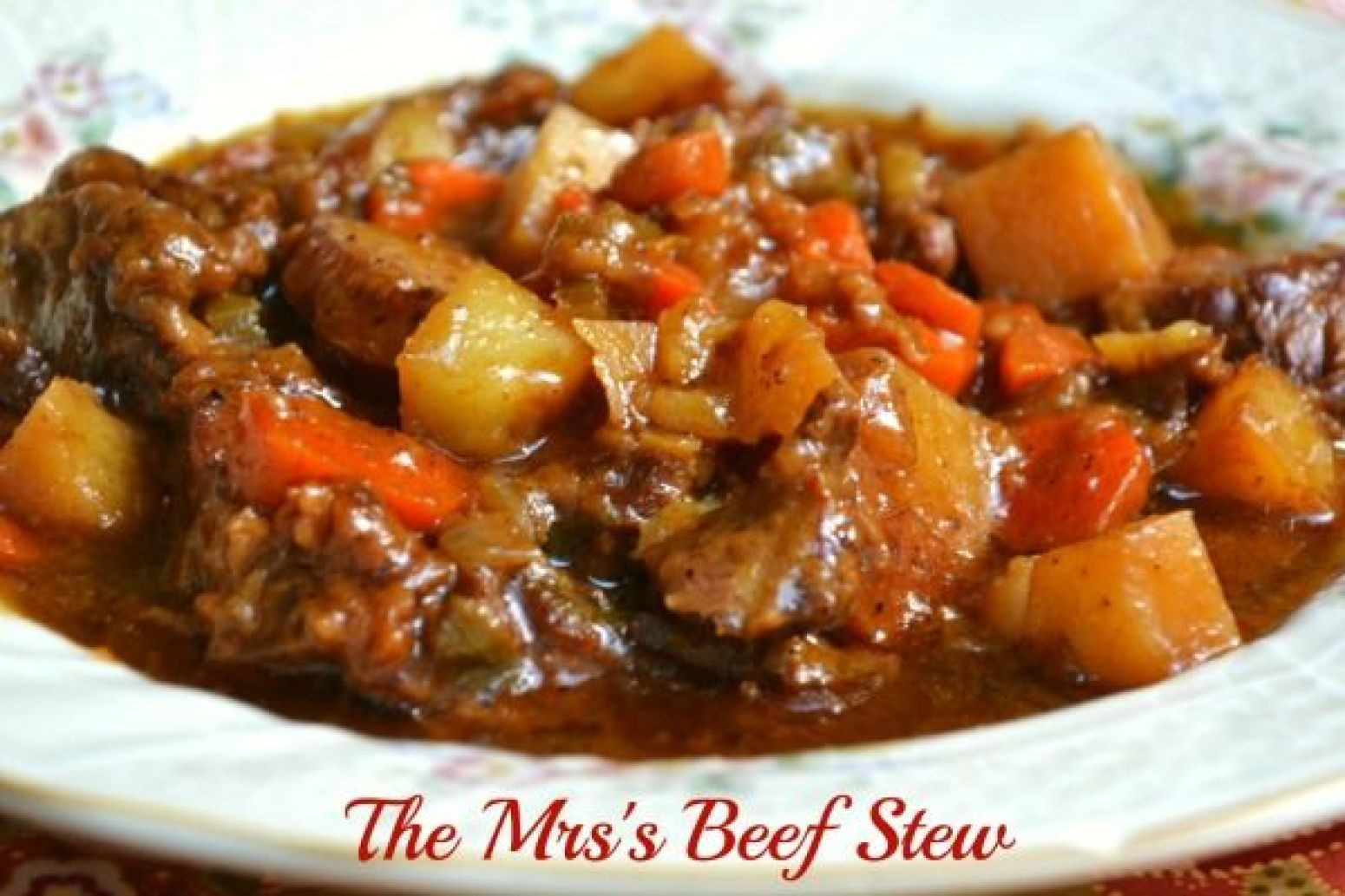 Slow Cooker Beef Stew Recipe 17 | Just A Pinch Recipes