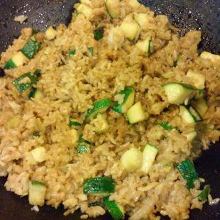 Zucchini Fried Rice Recipe