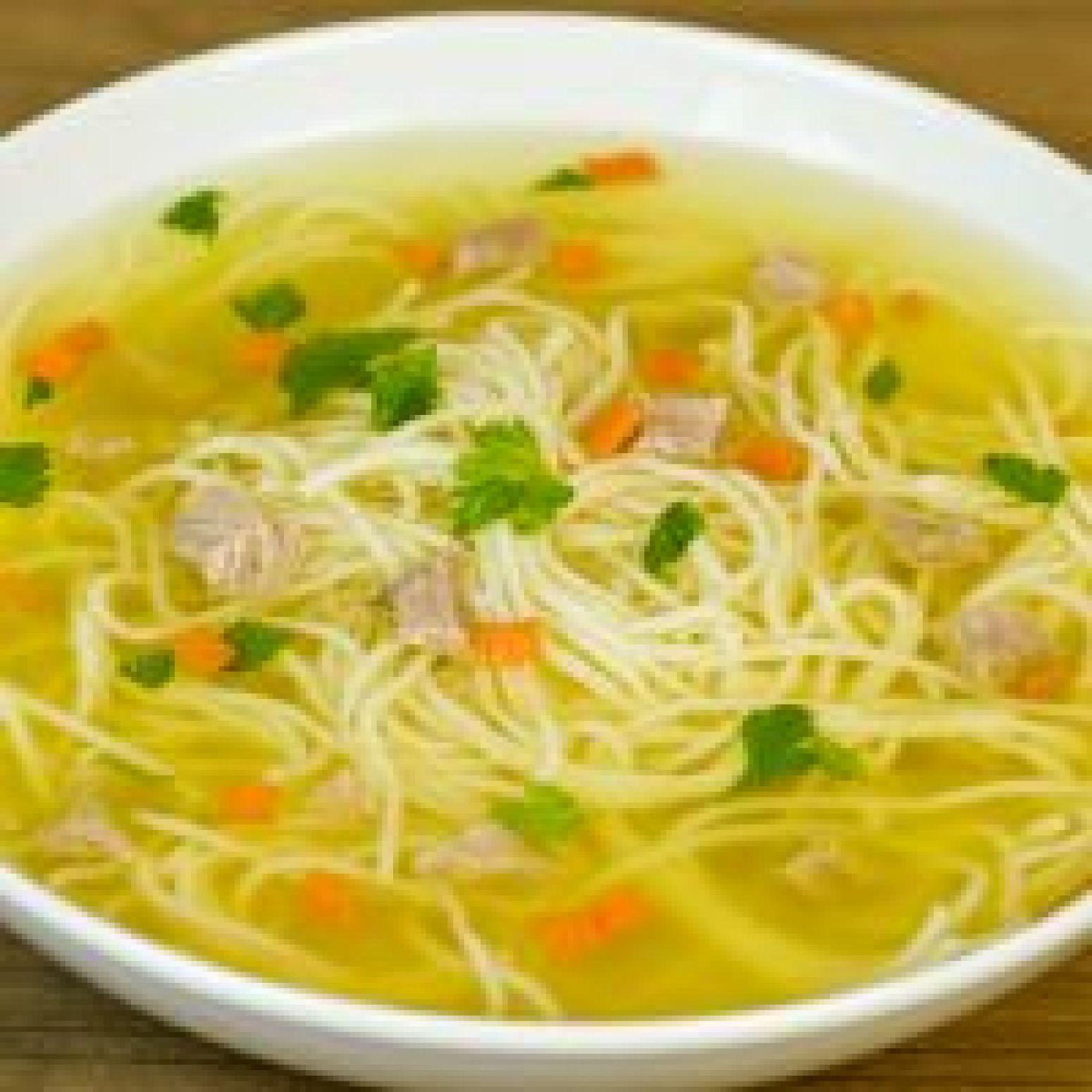 Delicious Chicken Noodle Soup In A Crockpot Recipe