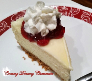 ~ Creamy Dreamy Cheesecake ~ Recipe