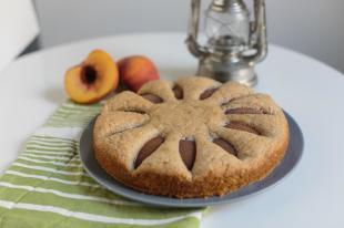 Spiced Peach Cake Recipe