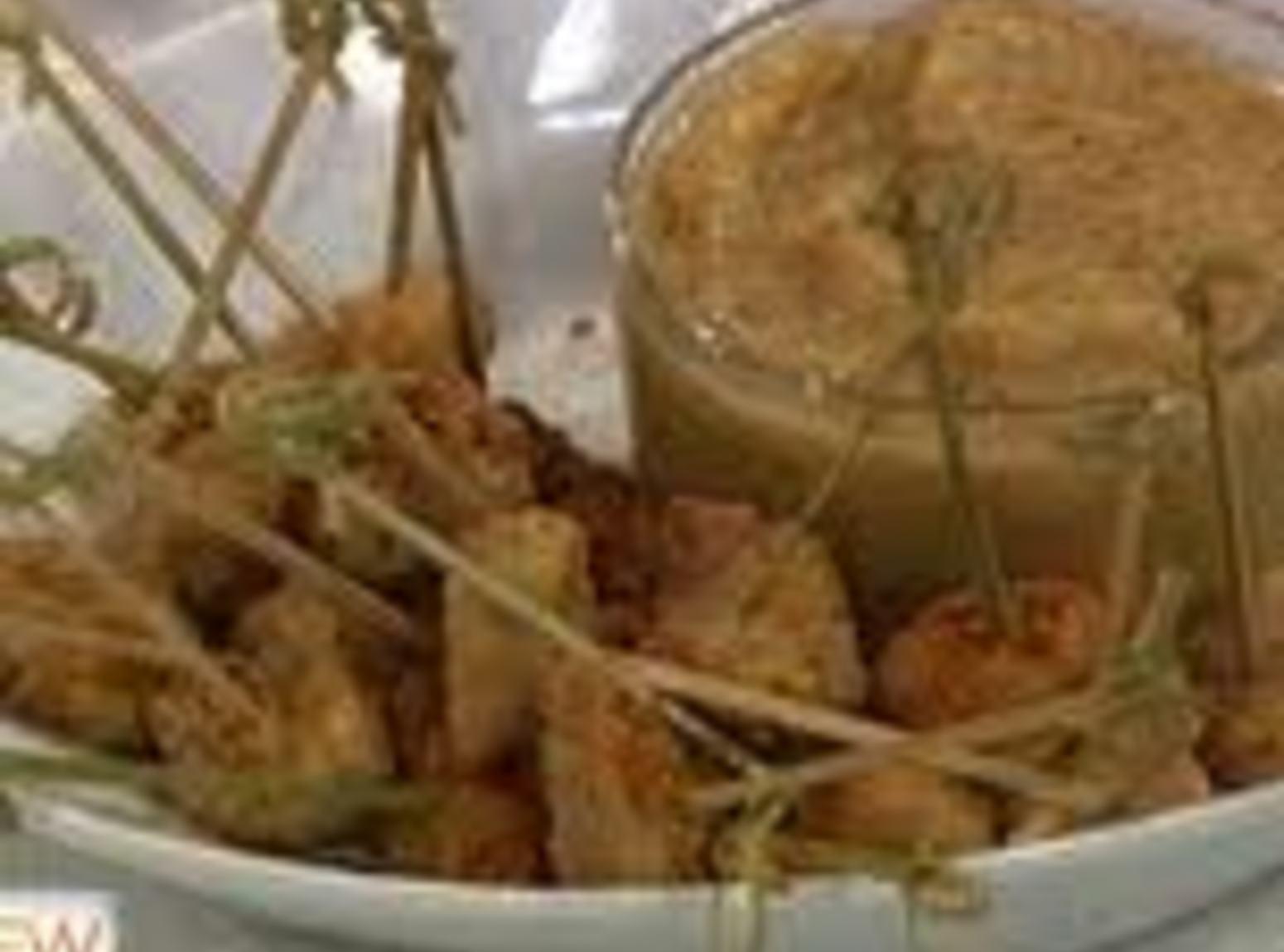 Pork Schnitzel and Applesauce Bites Recipe