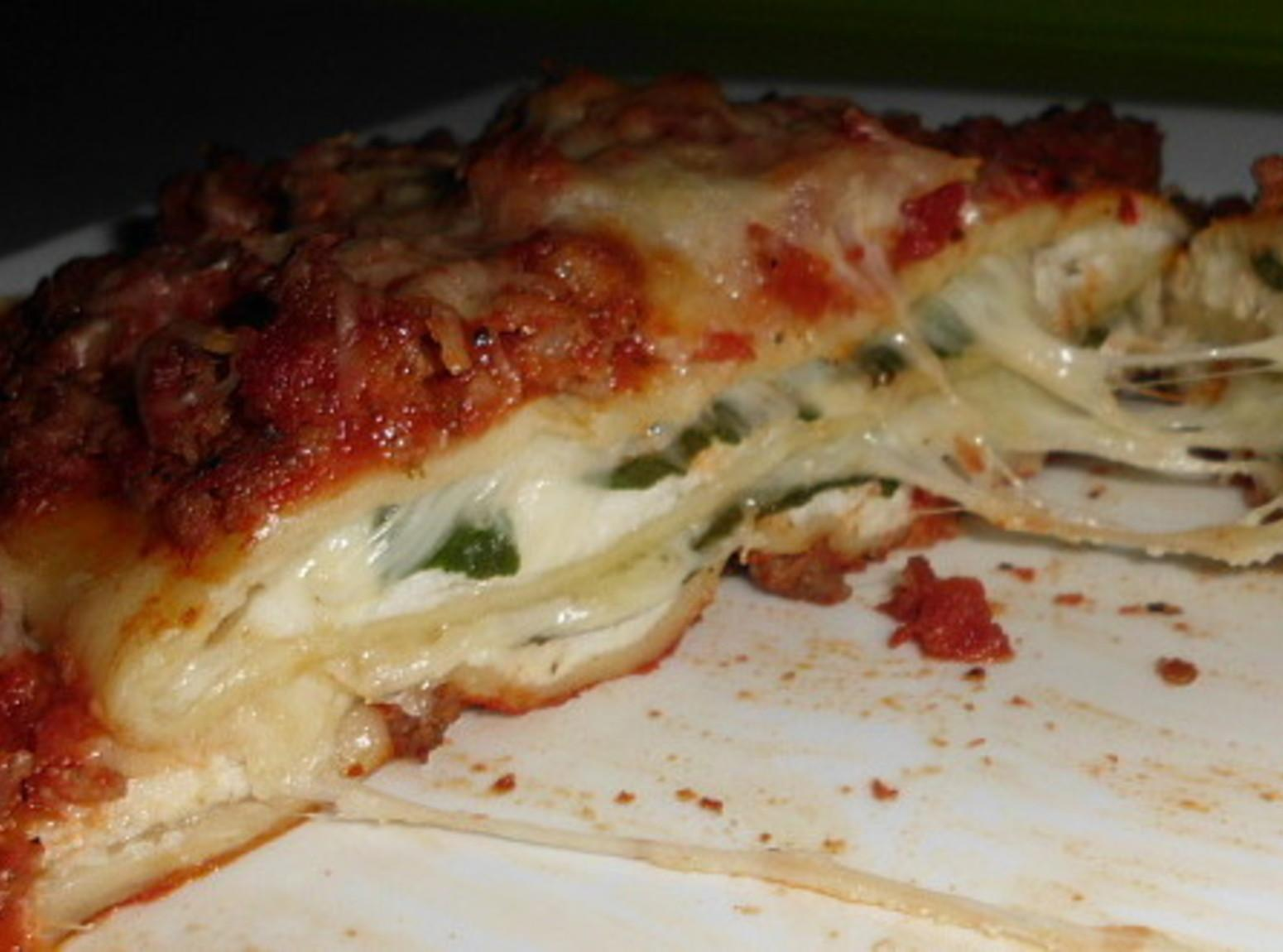 Cheesy Spinach Lasagna Stacks Recipe