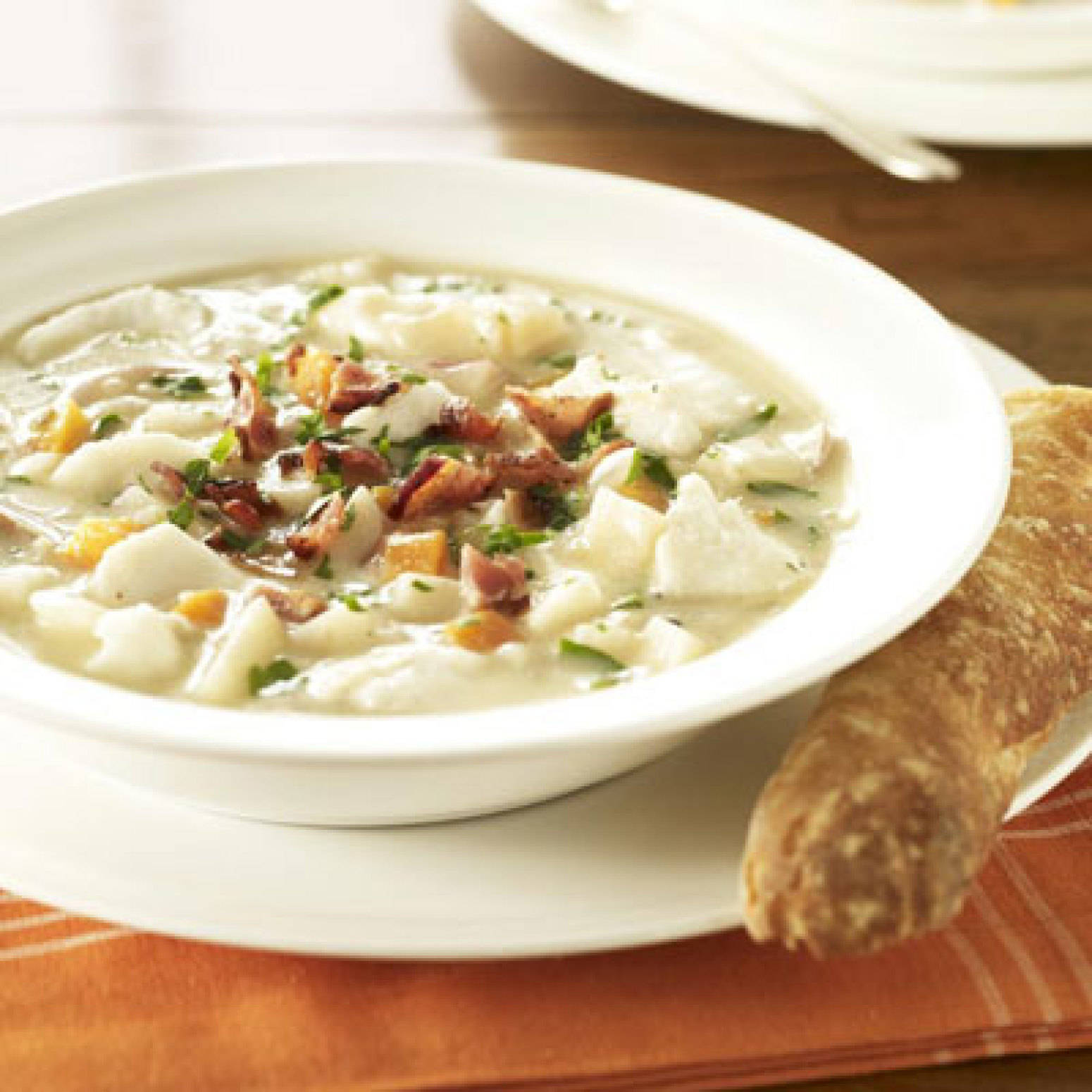 Hearty fish chowder recipe 3 just a pinch recipes for Recipe for fish chowder