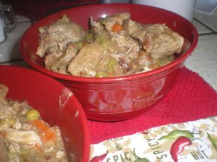 Silver Bullet Braised Pork and Veggies Recipe