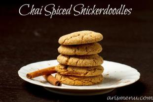 Chai Spiced Snickerdoodles Recipe