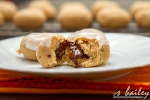 Orange Chocolate Lava Cookies Recipe