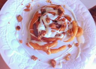 Pumpkin Spice Latte Funnel Cake Recipe