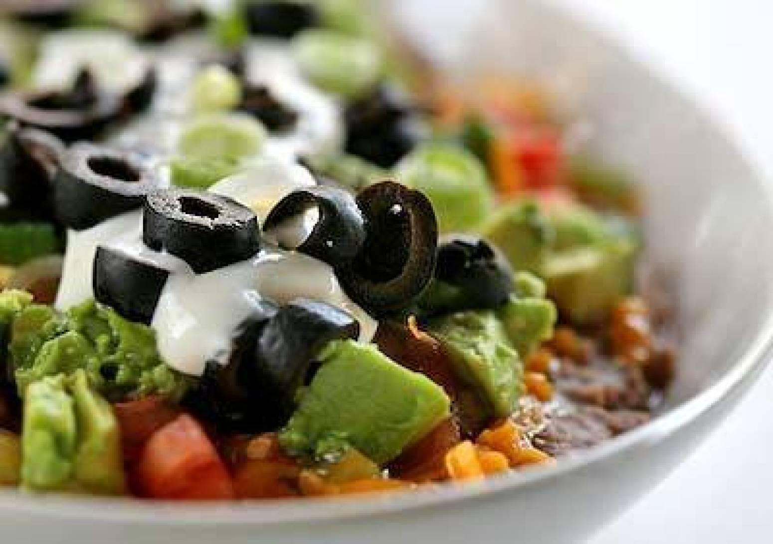 7 Layer Bean Dip Recipe 2 | Just A Pinch Recipes
