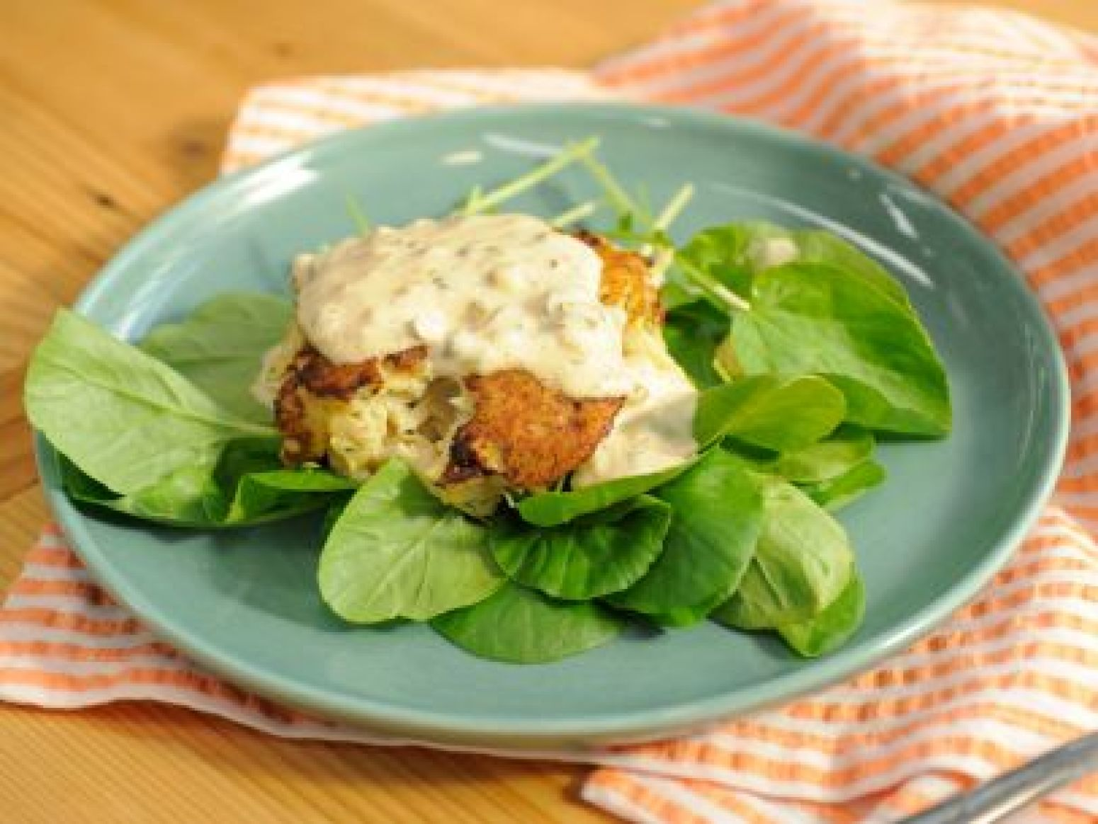 Crab Cakes with Remoulade Sauce Recipe 2 | Just A Pinch Recipes