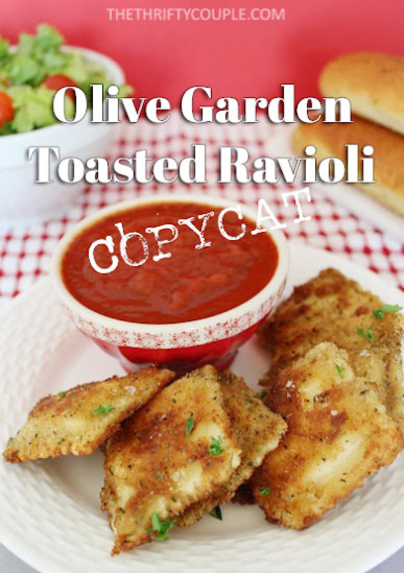 Diy Toasted Ravioli Recipe Olive Garden Copycat Just A Pinch Recipes