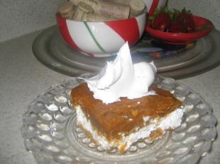 Creamy Pumpkin Dessert Squares Recipe