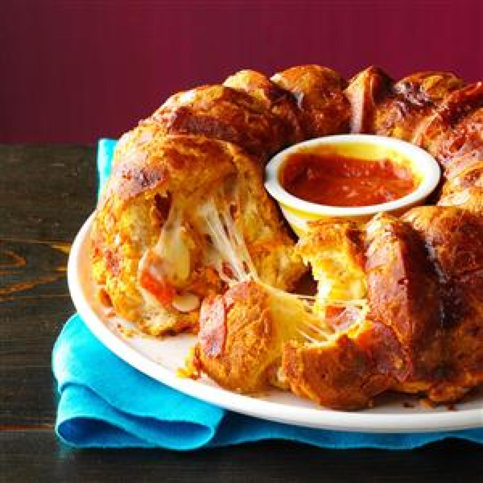 Pizza Monkey Bread Recipe | Just A Pinch Recipes