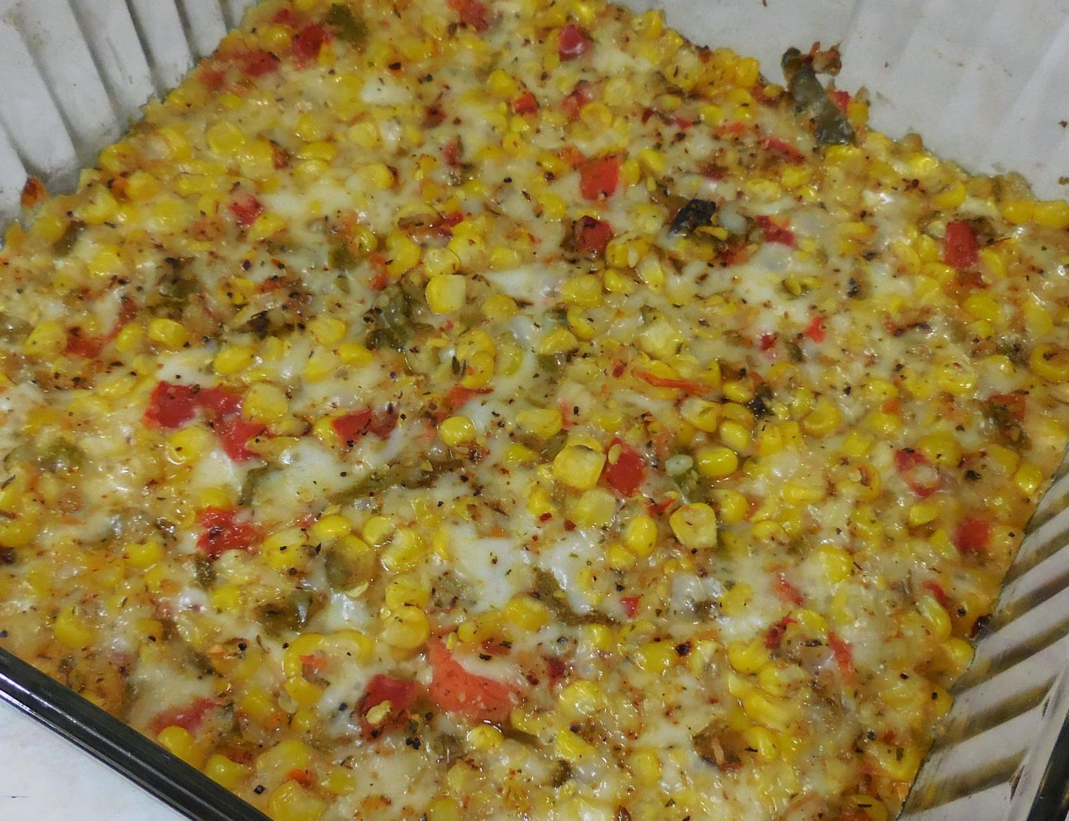 Cheesy Southern Corn Casserole Recipe | Just A Pinch Recipes