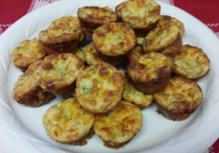 Impossibly Easy Mini Quiches Recipe