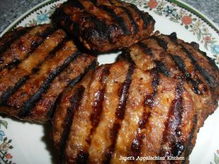 BBQ Meatloaf Burgers Recipe