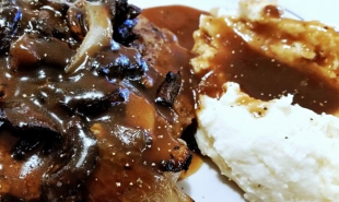 ~ Tasty Chopped Sirloin - Mushroom Onion Gravy ~ Recipe