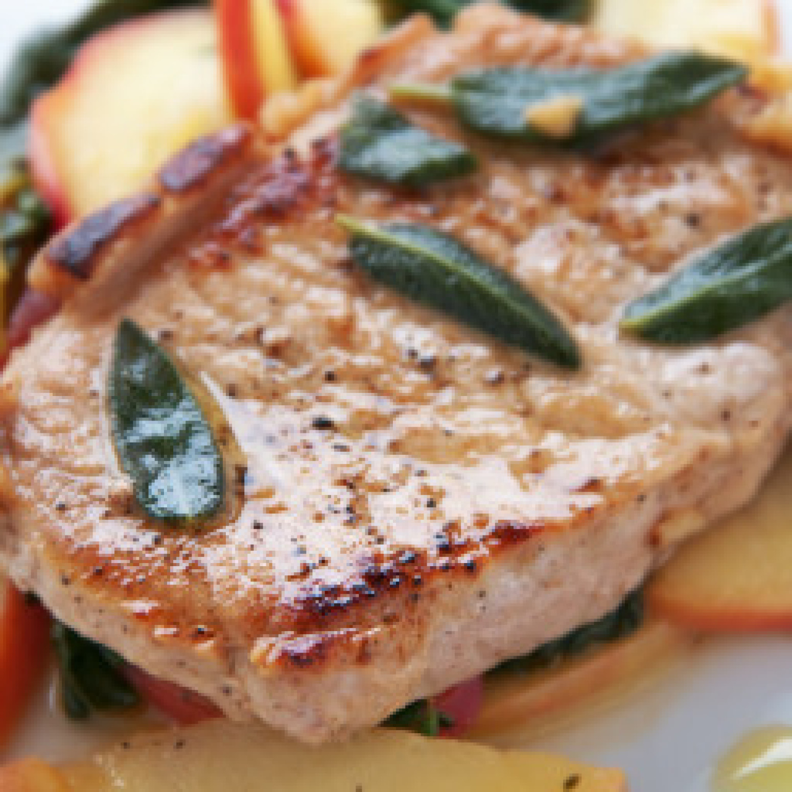 Caramel Apple Pork Chops Recipe 5 | Just A Pinch Recipes