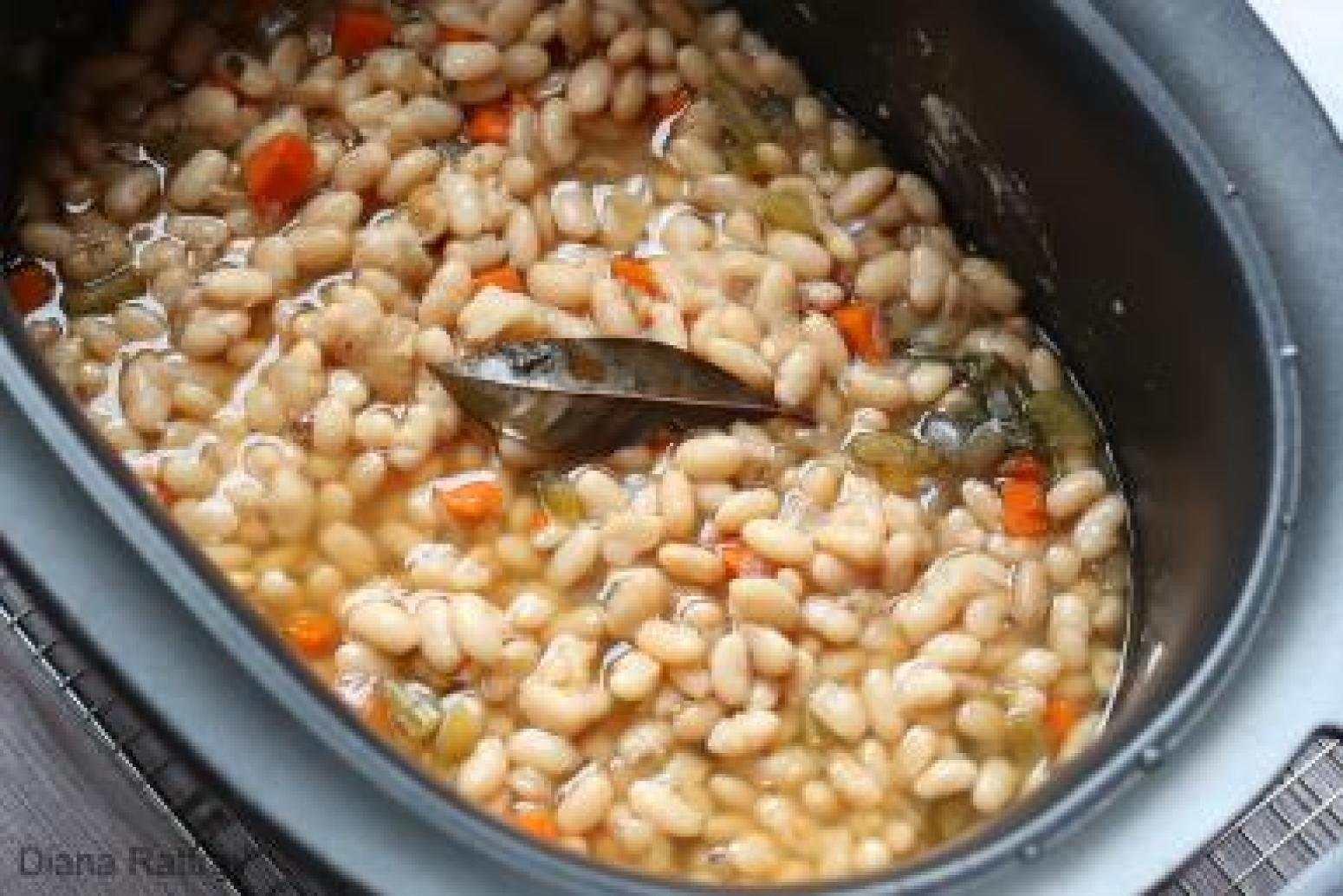 Homemade Great Northern Beans From Your Slow Cooker Recipe | Just A ...