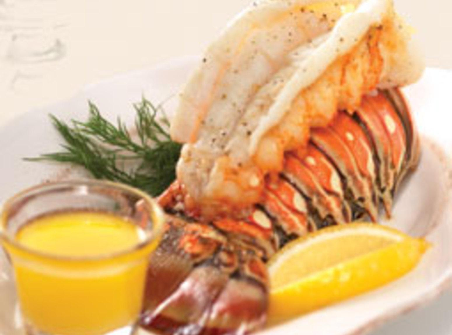 Broiled Lobster Tails with Clarified Butter Recipe | Just A Pinch Recipes