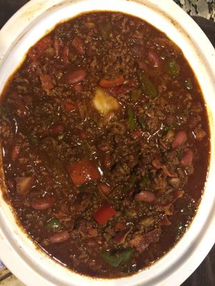 Too hot to trot BEER CHILI Recipe