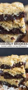 Coconut Brookies Recipe