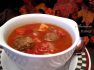 Vegetarian Meatless Ball Soup Recipe