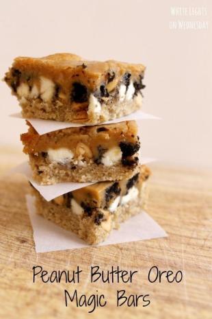 Peanut Butter Oreo Magic Bars Recipe