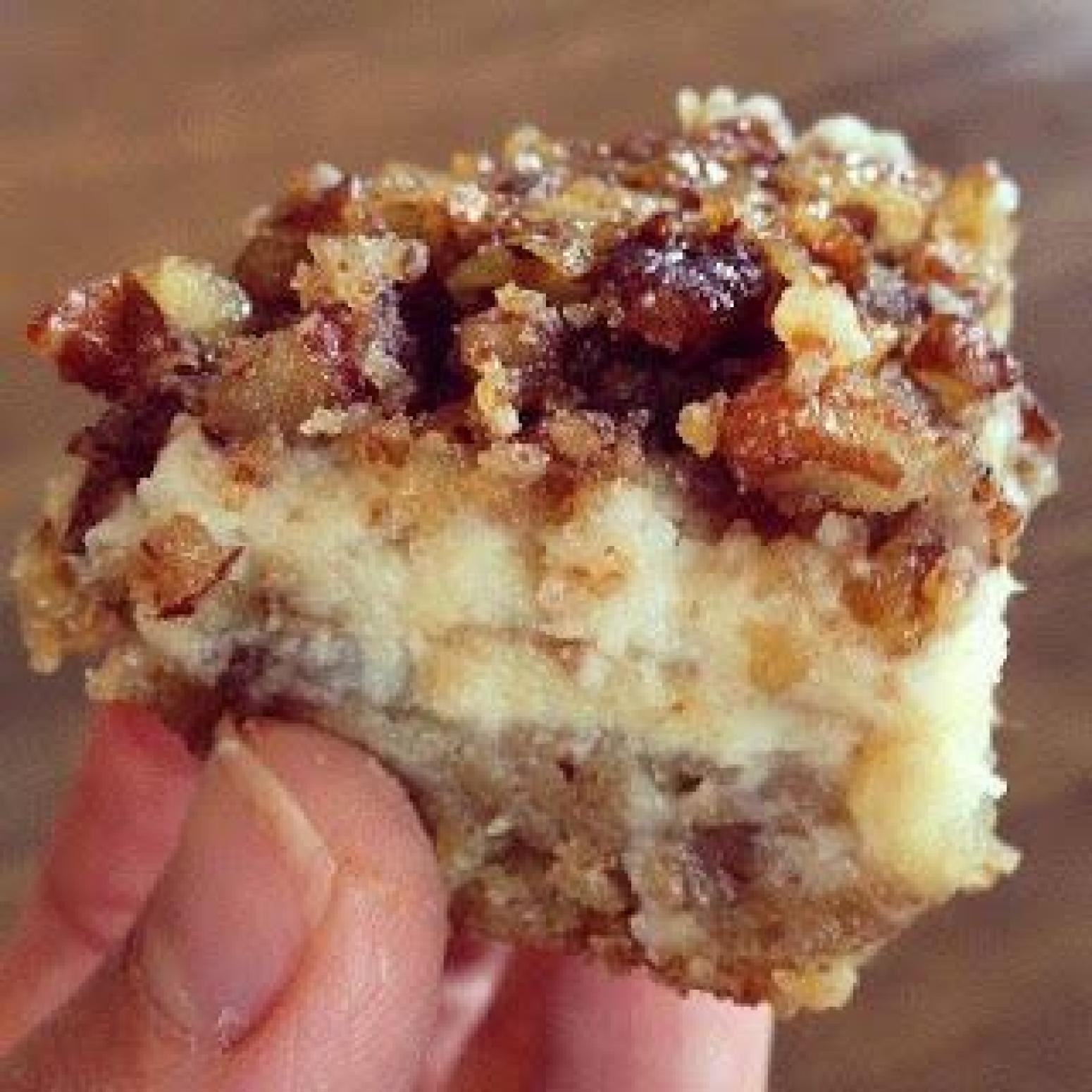 Nutty Chocolate Cake Squares