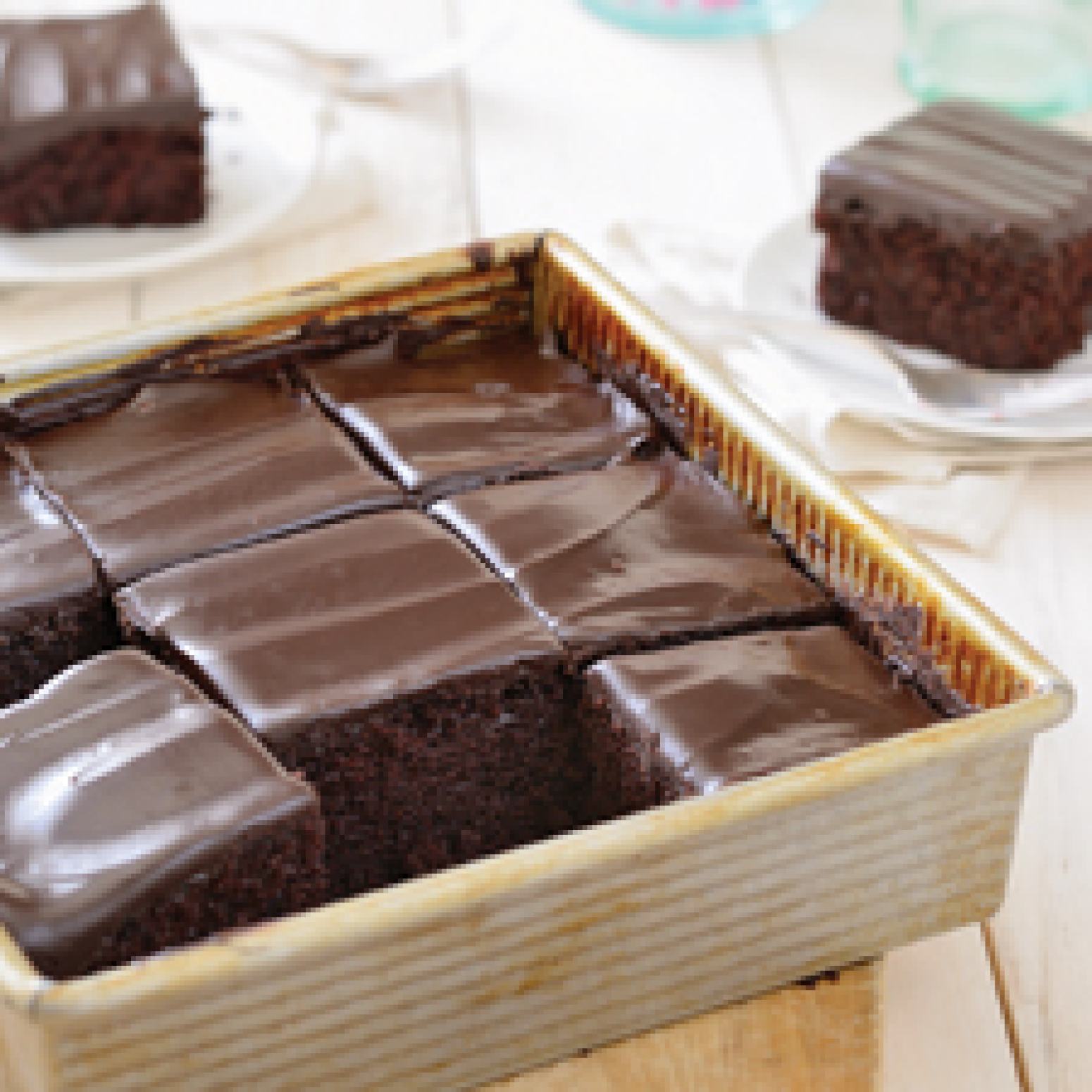 King Arthur Flour's Original Cake Pan Cake Recipe 3