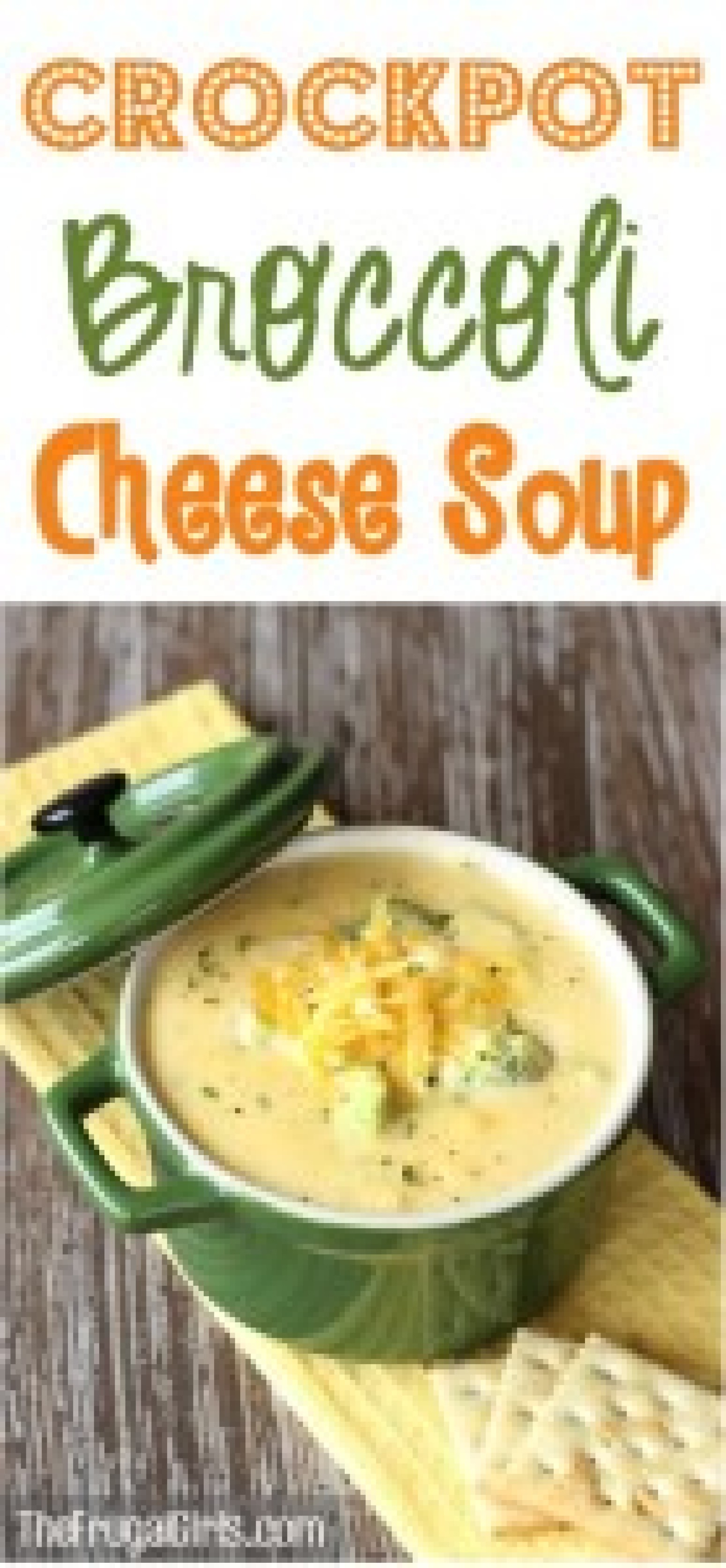how to make broccoli cheese soup in crock pot