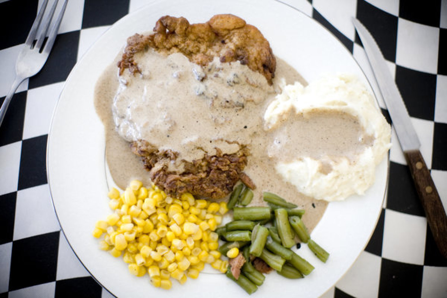 fried chicken with smoky gravy chicken fried steak steak fingers gravy ...