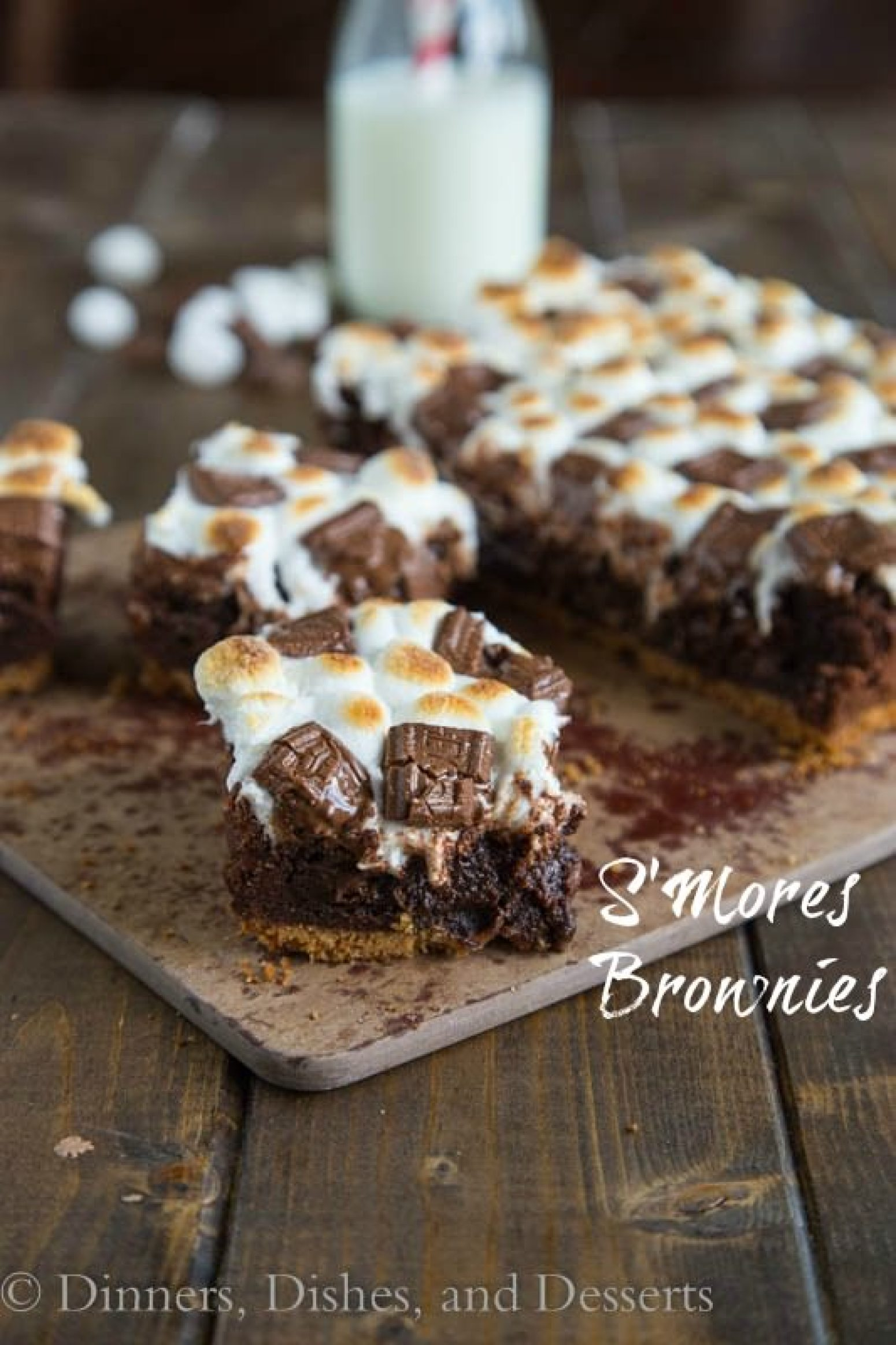 S'Mores Brownies Recipe 12 | Just A Pinch Recipes