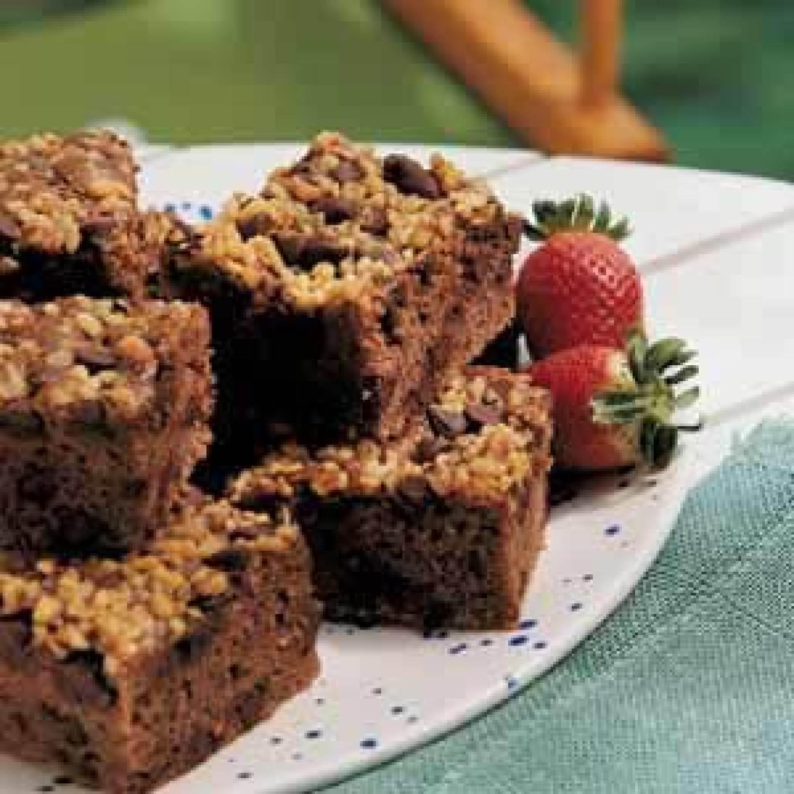 Oatmeal Chocolate Chip Cake Recipe | Just A Pinch Recipes