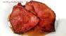 ~ Mouth Watering Peach Glazed Ham Steaks ~ Recipe