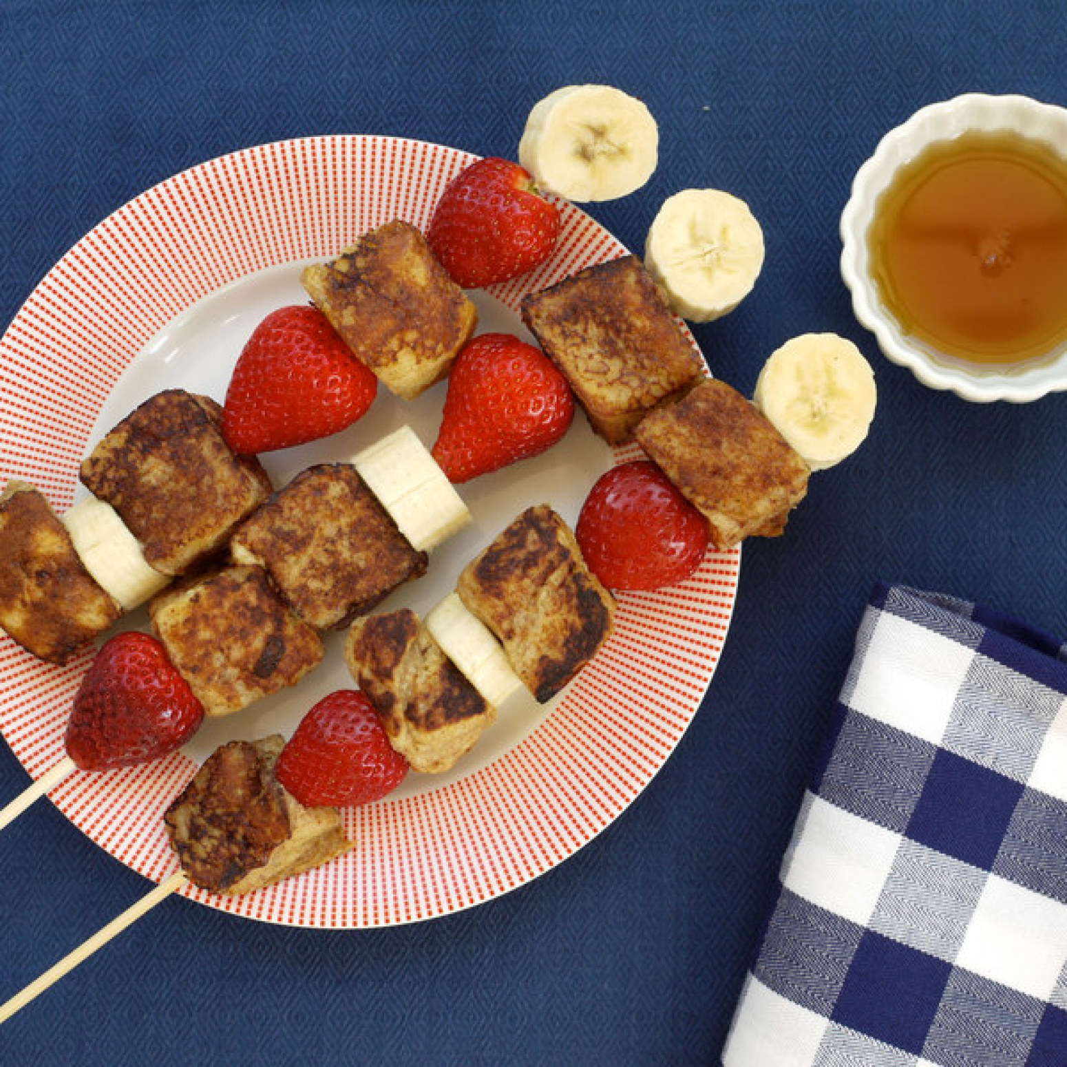 French Toast on a Stick Recipe | Just A Pinch Recipes