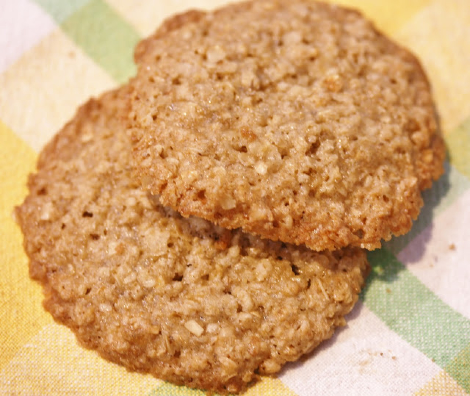 Flourless Oatmeal Lace Cookies Recipe | Just A Pinch Recipes