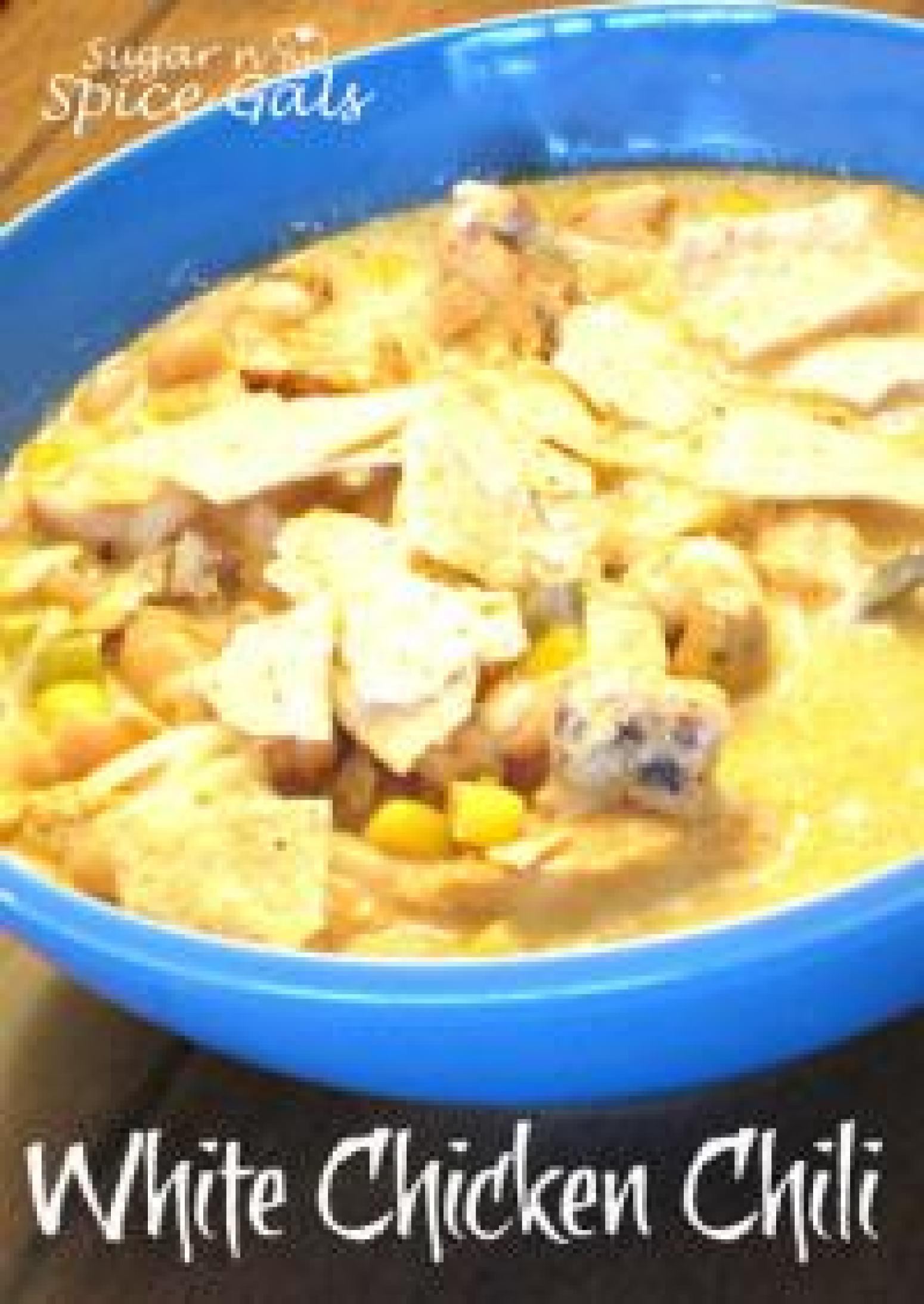 White Bean Chicken Chili Recipe 8 | Just A Pinch Recipes