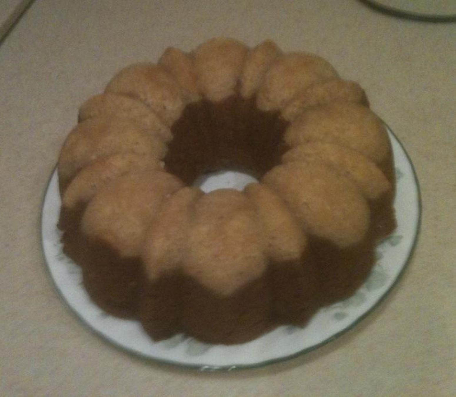 Frosted Two Tone Pumpkin Bundt Cake Recipe | Just A Pinch Recipes