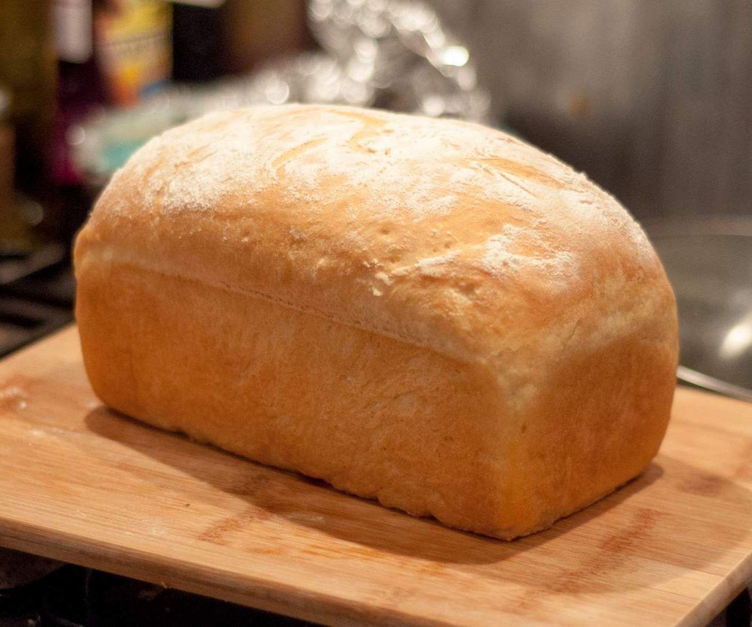 Squishy White Bread Recipe : Perfect Bread Super Soft White Farmhouse Loaf Recipe Just A Pinch Recipes