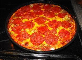 Deep Dish Pizza Pie (MRD Style) Recipe