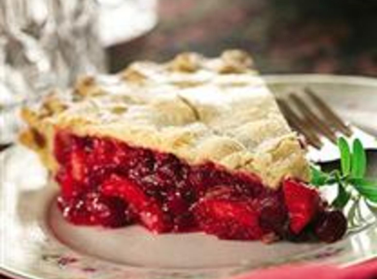 Apple Cranberry Raspberry Pie Recipe