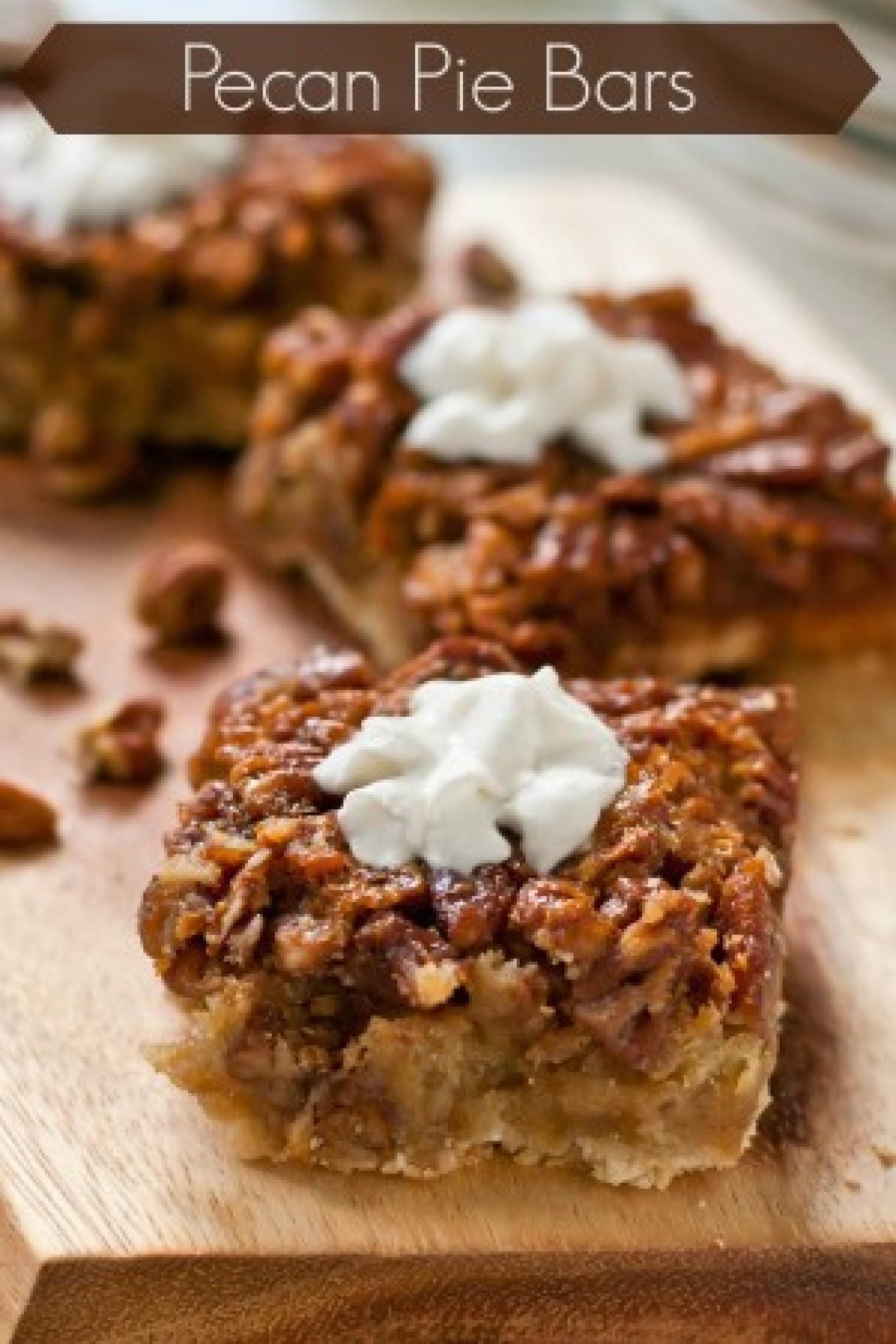 Pecan Pie Bars Recipe 46 | Just A Pinch Recipes