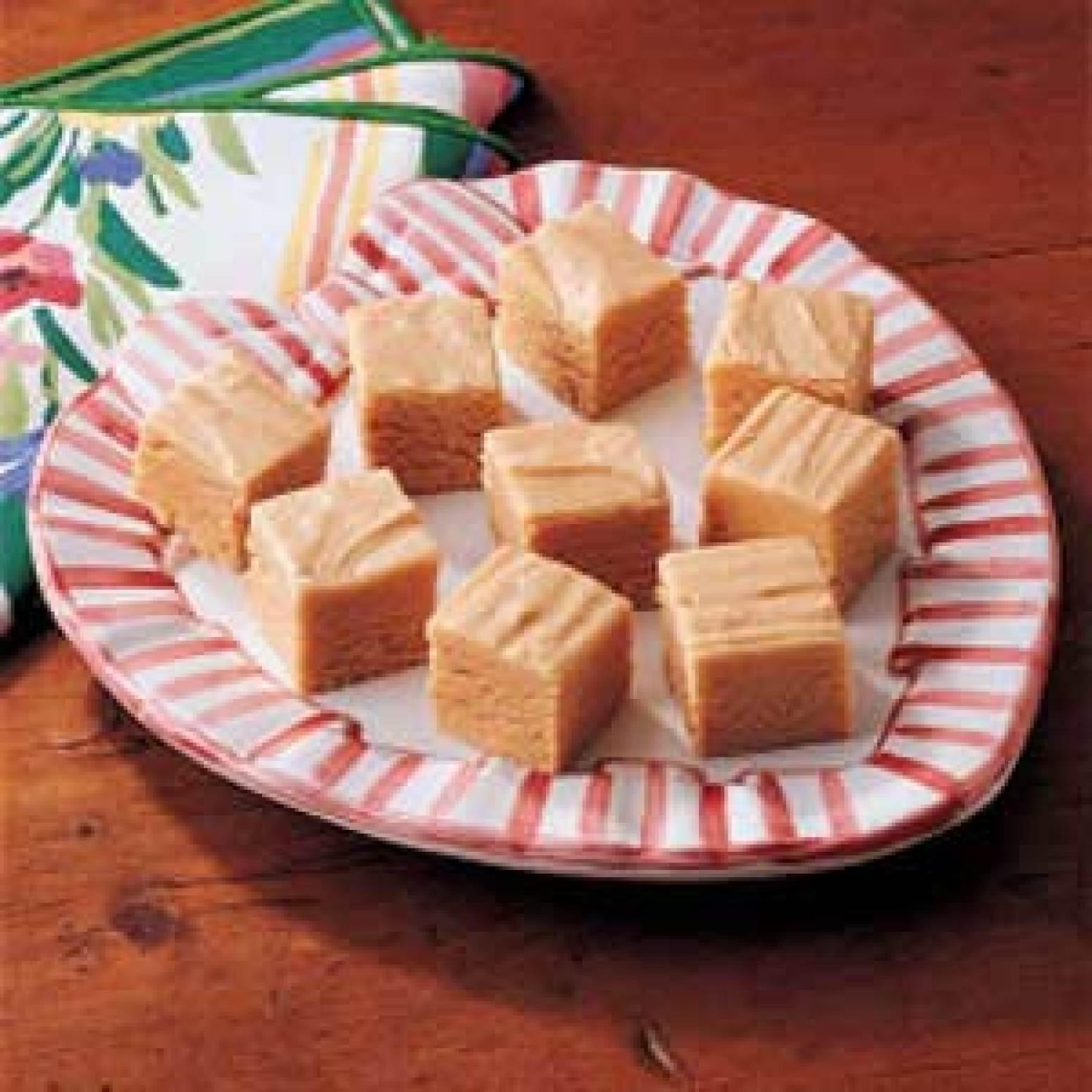 Easy Peanut Butter Fudge Recipe | Just A Pinch Recipes