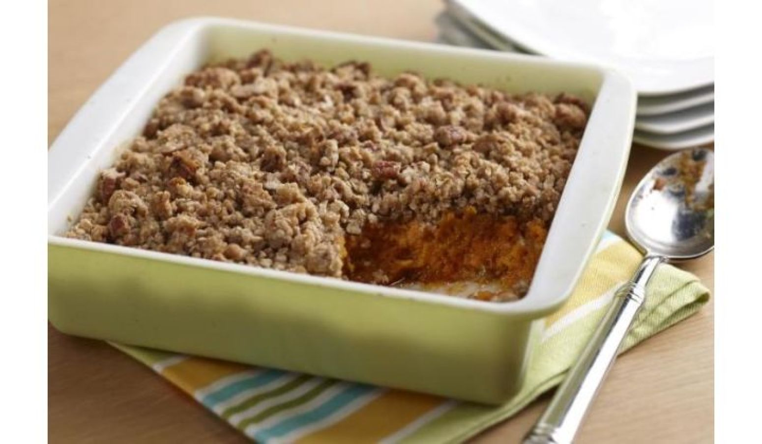Sweet Potato Pudding with Pecan Streusel Topping Recipe ...