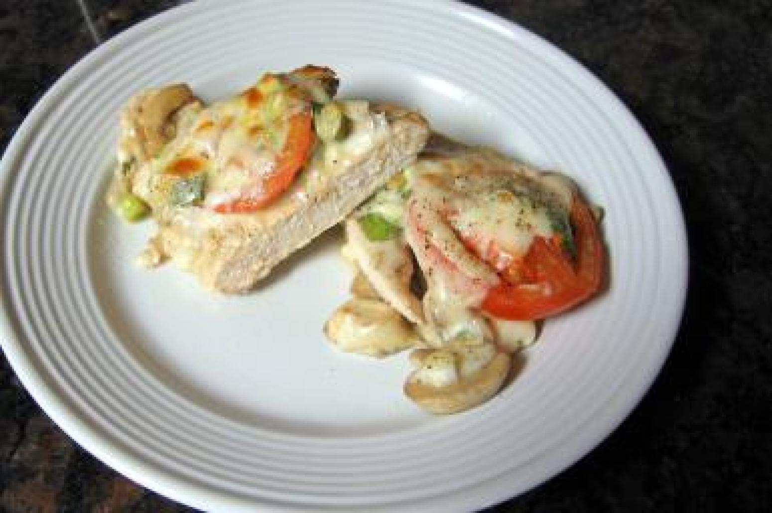 Baked Shells With Tomato And Mozzarella Recipes — Dishmaps
