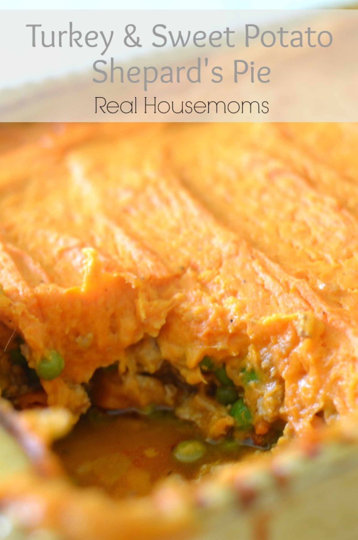 Turkey & Sweet Potato Shepherd's Pie Recipe | Just A Pinch ...