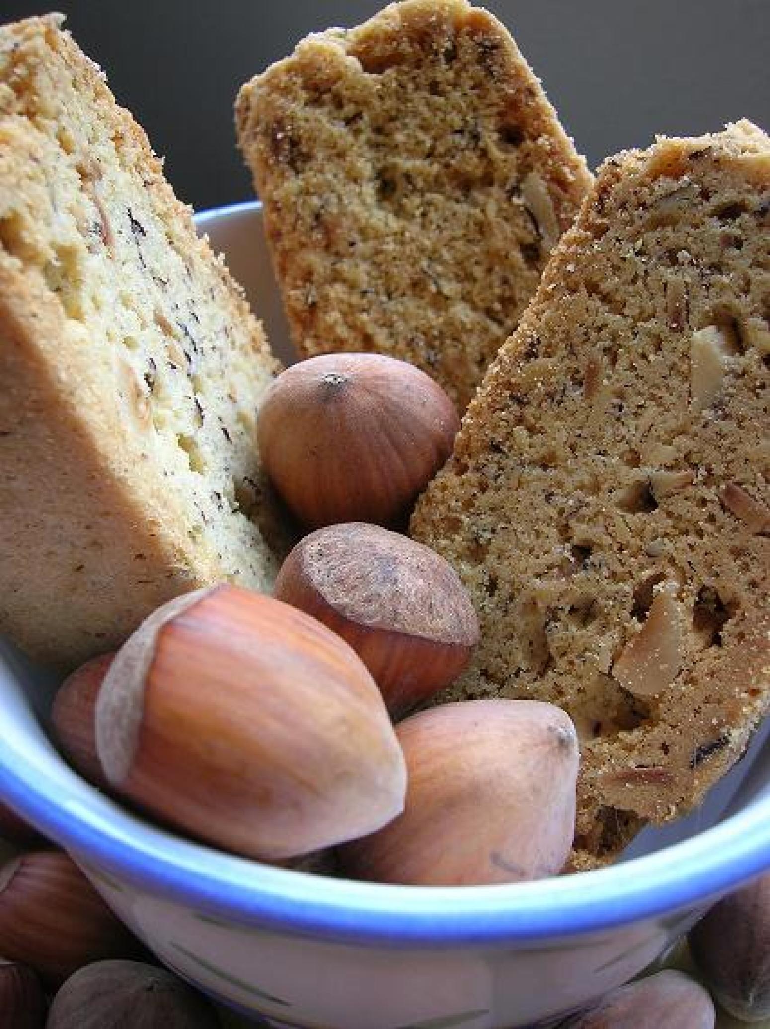 Cinnamon and Hazelnut Biscotti Recipe | Just A Pinch Recipes