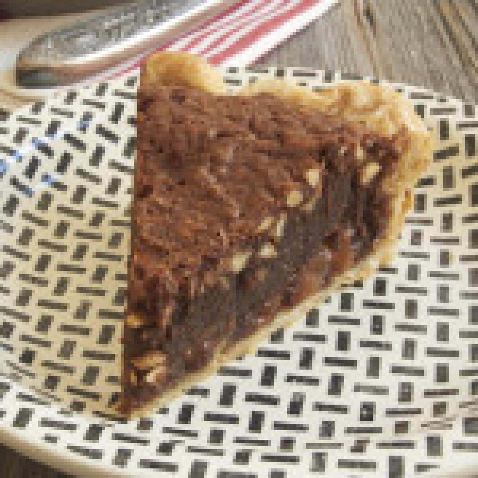 Caramel Peanut Butter Brownie Pie Recipe | Just A Pinch Recipes