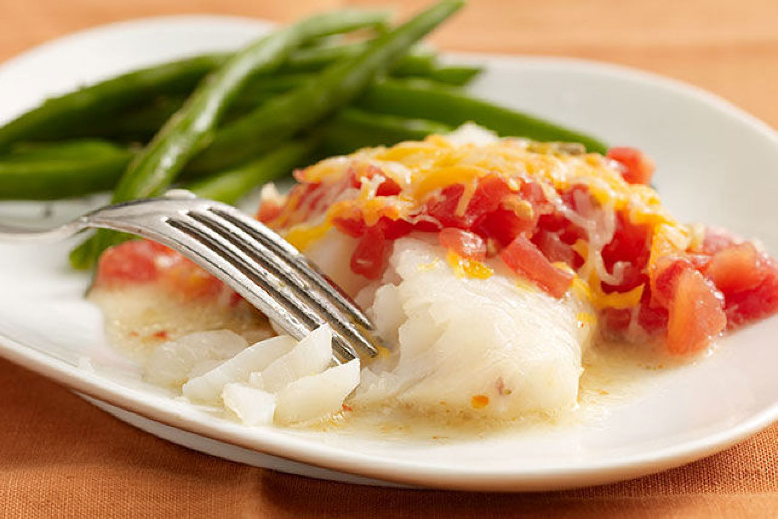 Baked cod fillets recipe just a pinch recipes for Baked cod fish